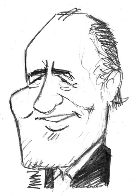 Caricature : Delpech Michel