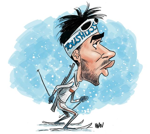 Caricature : Fourcade M. 3