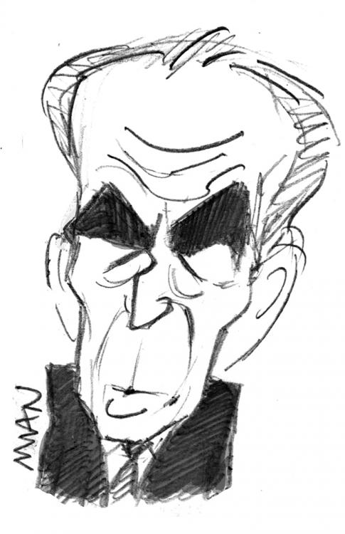 Caricature : Badinter Robert