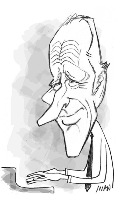 Caricature : Martin George