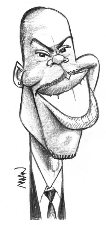Caricature : Rock Chris