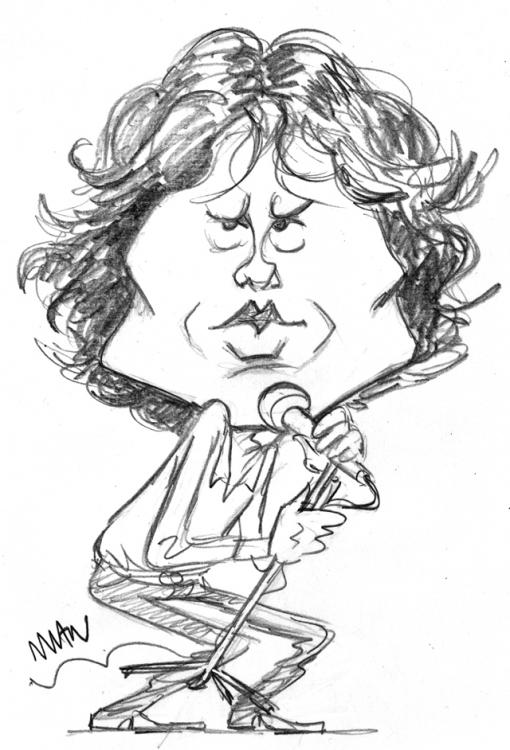Caricature : Morrison Jim