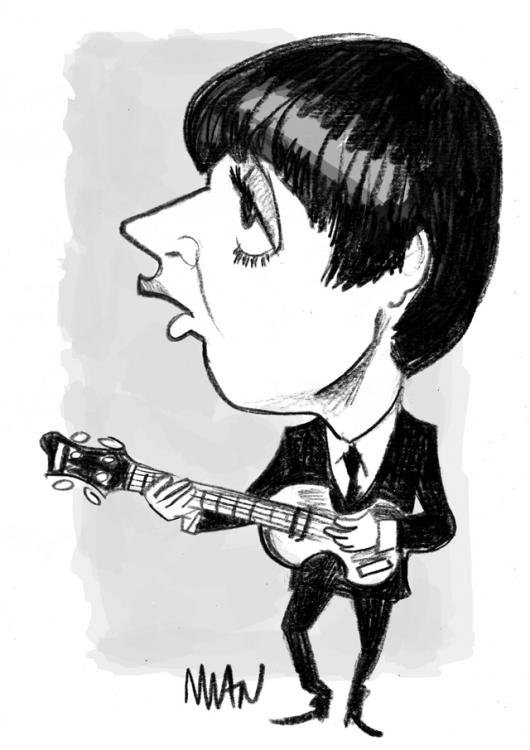Caricature : Mac Cartney 3