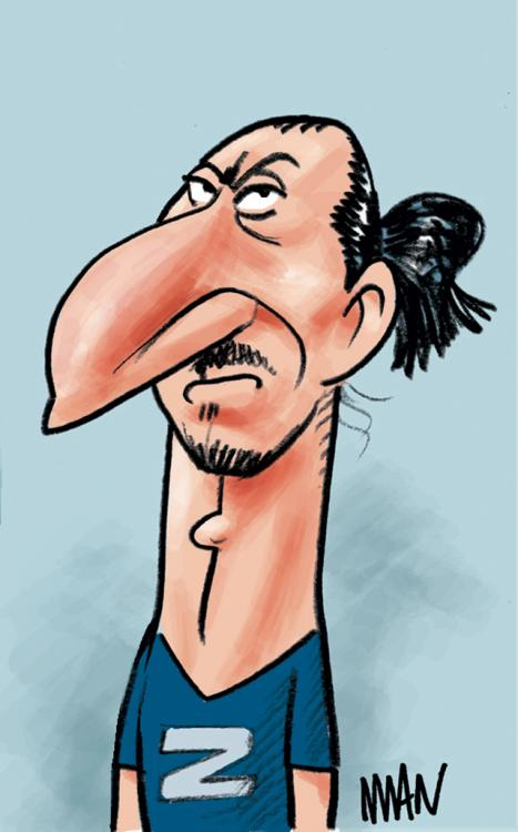 Caricature : Ibrahimovic 2