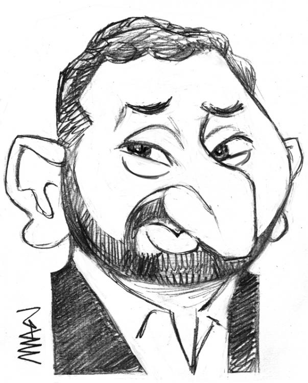 Caricature : Hanouna Cyril