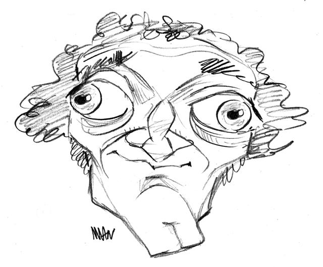 Caricature : Feldman Marty