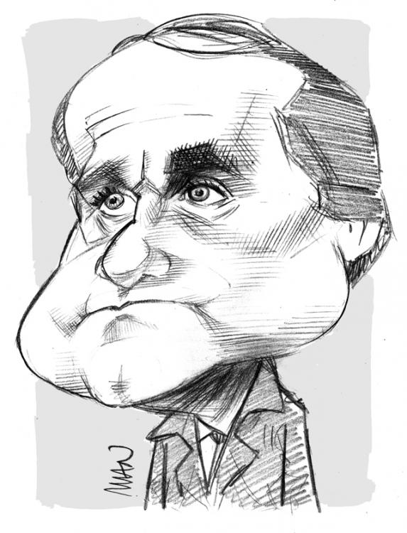 Caricature : Fouroux Jacques