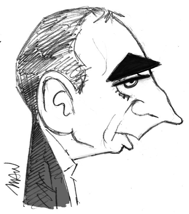 Caricature : Zemmour 2
