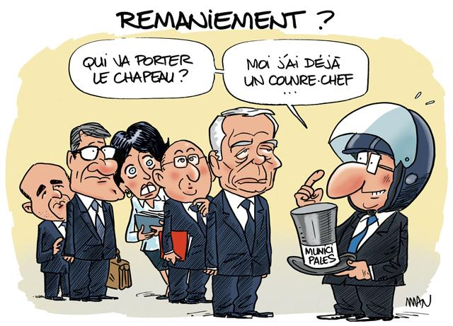 presse : Remaniement