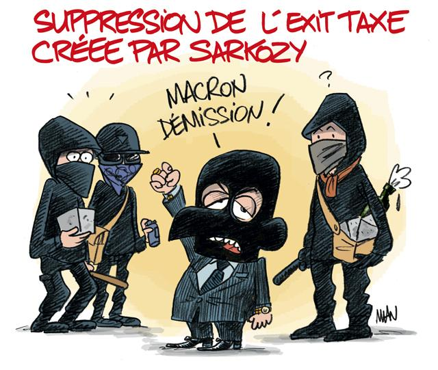 presse : Exit taxe