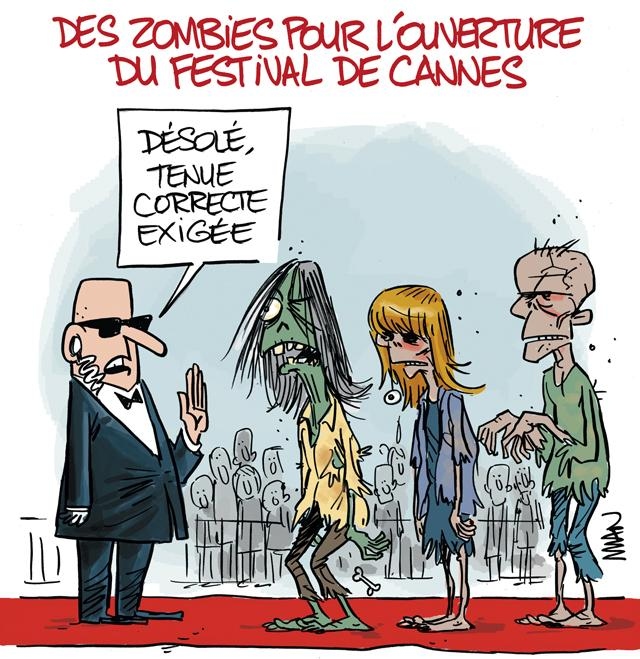 presse : Cannes-Zombies