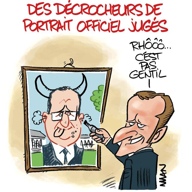 presse : Portrait officiel