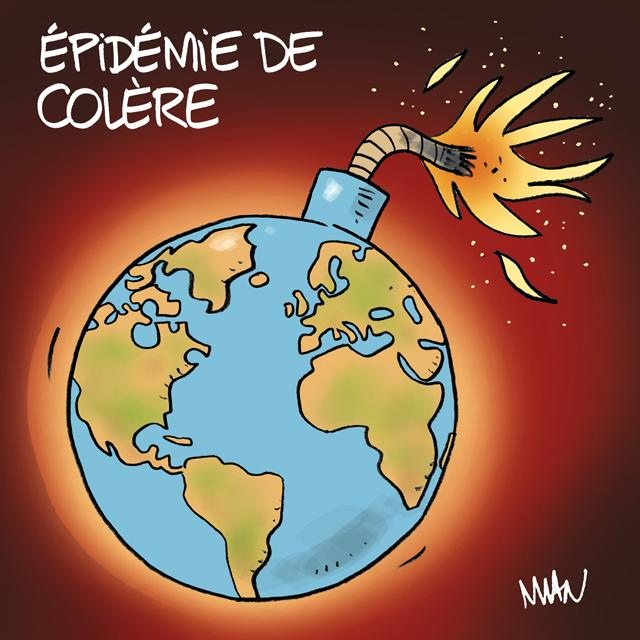 presse : Colère internationale