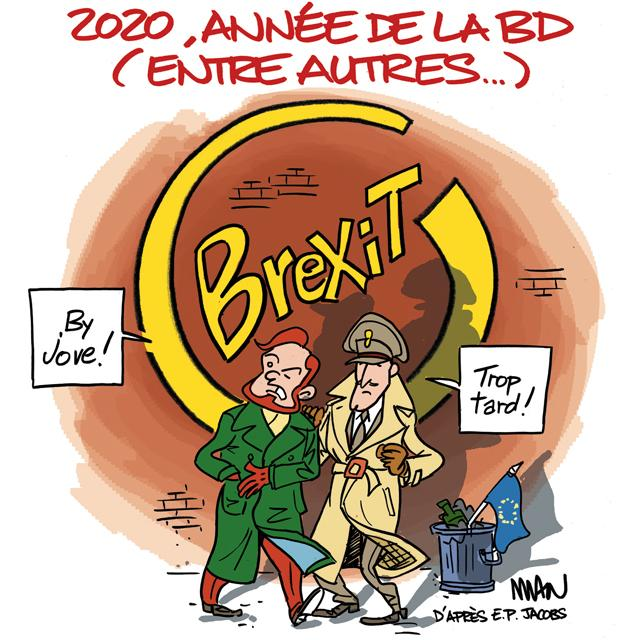 presse : Brexit, by Jove