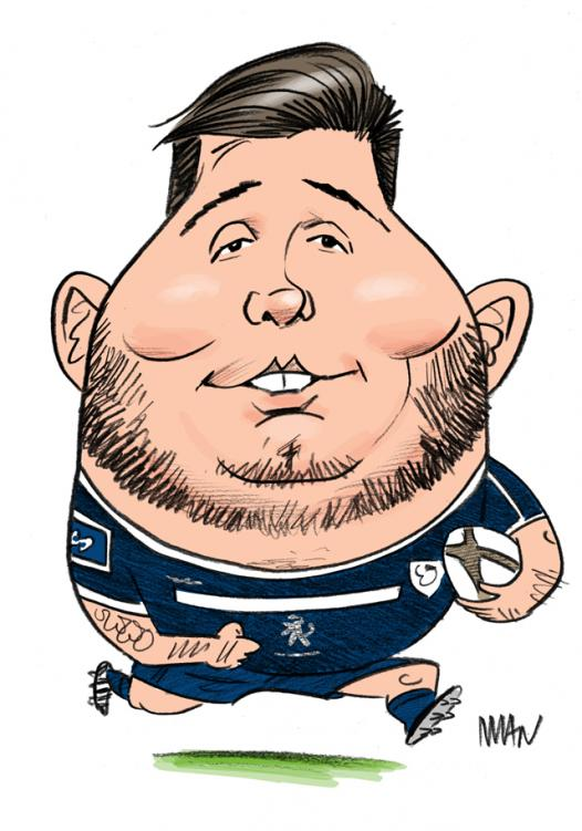 Caricature : Baille Cyril