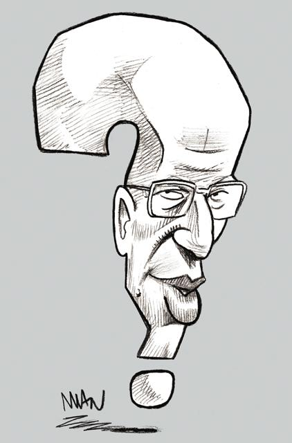 Caricature : Grothendieck