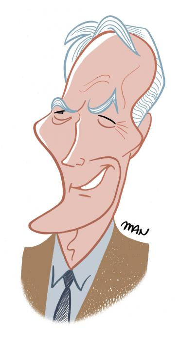 Caricature : Eastwood Clint