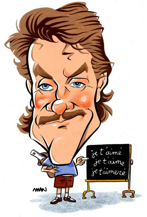 Caricatures commander votre caricature for Cabane au fond du jardin cabrel