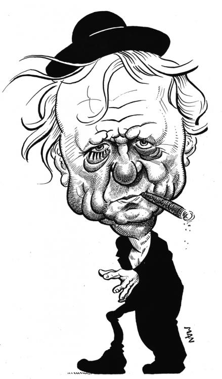 Caricature : Burgess Anthony