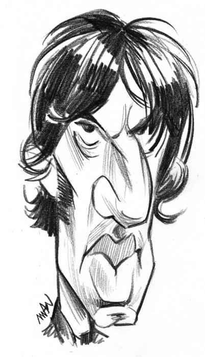 Caricature : Ashcroft Richard