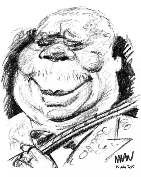 Caricature : BB King