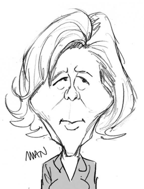 Caricature : Chazal Claire