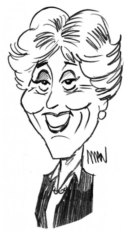Caricature : Cresson Edith