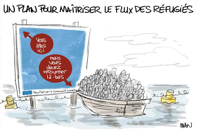 presse : Plan migrants