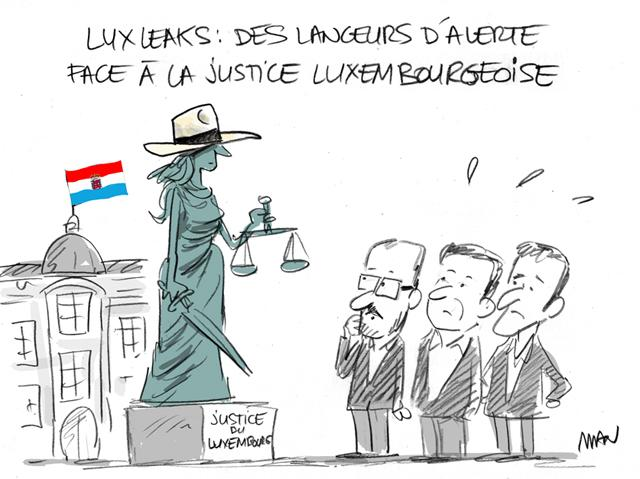 presse : Luxleak
