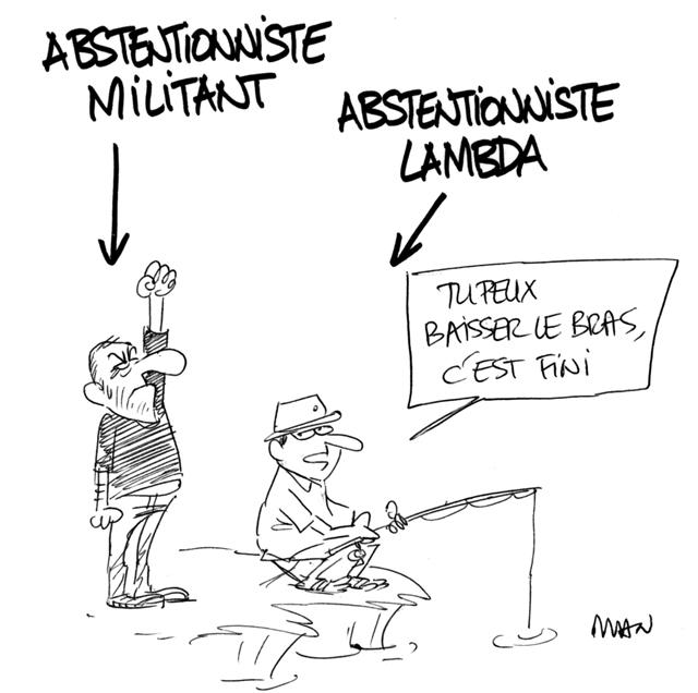 presse : Abstentionnistes